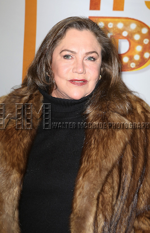 NEW YORK, NY - JANUARY 23:  Kathleen Turner attends the Re-Opening Night of 'It's Only A Play'  at the Bernard B. Jacobs Theatre on January 23, 2014 in New York City.  (Photo by Walter McBride/WireImage)