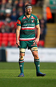 6th January 2018, Welford Road Stadium, Leicester, England; Aviva Premiership rugby, Leicester Tigers versus London Irish; Mike Fitzgerald in action for Tigers