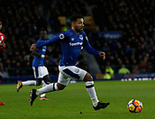2nd December 2017, Goodison Park, Liverpool, England; EPL Premier League football, Everton versus Huddersfield Town;  Aaron Lennon of Everton on the ball