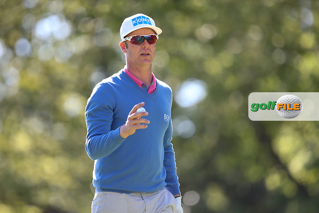 Mikko ILONEN (FIN) during Round One of the 2015 BMW PGA Championship over the West Course at Wentworth, Virginia Water, London. 21/05/2015Picture David Lloyd, www.golffile.ie.