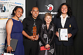 Top Team of the Year winner Manukau South Volleyball Team. Counties Manukau Sport Sporting Excellence Awards held at the Telstra Clear Pacific Events Centre Manukau on December 1st 2011.