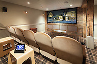 Comfy Theater with Large Screen