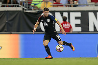 Jacksonville, FL - September 6, 2016: The U.S. Men's National team go on to defeat Trinidad & Tobago 4-0 with Paul Arriola contributing a goal during a World Cup Qualifier (WCQ) match at EverBank Field.