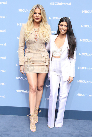 NEW YORK, NY - MAY 16: Khloe Kardashian and Kourtney Kardashian at the NBCUniversal 2016 Upfront at Radio City Music Hall in New York City on May 16, 2016. Credit: RW/MediaPunch