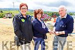 Kathleen McCarthy, Breda Collins and Moss Trant enjoying the Kilflynn Vintage Rally on Sunda