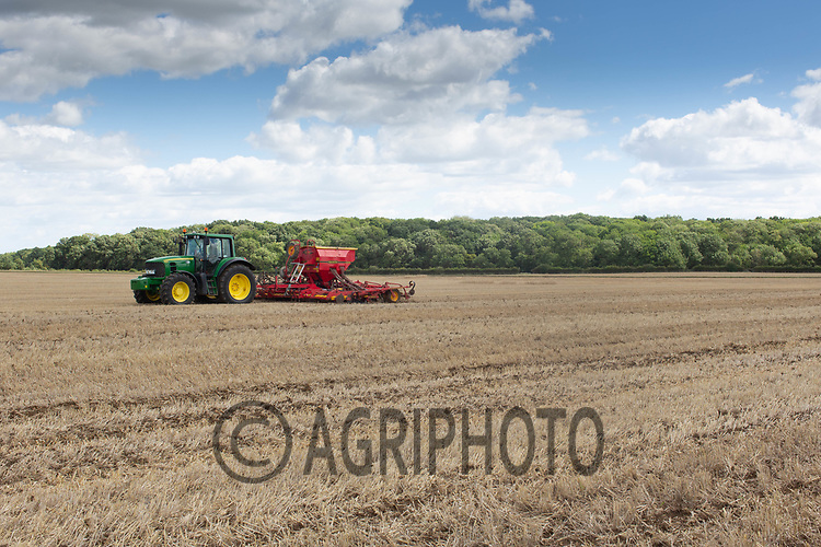 28.7.2020 Drilling oilseed rape in Cambridgeshire <br /> ©Tim Scrivener Photographer 07850 303986<br />      ....Covering Agriculture In The UK.