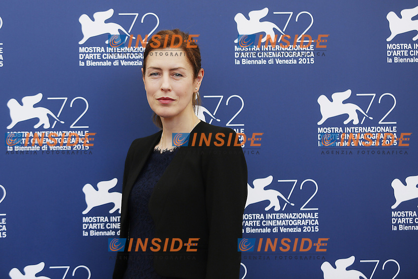 VENICE, ITALY - SEPTEMBER 10: Gina McKee attends 'Taj Mahal' Photocall during 72nd Venice Film Festival at Palazzo Del Cinema on September10, 2015 in Venice, Italy. (Mark Cape/insidefoto)