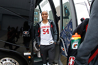 Chicago, IL - March 30, 2019: Stanford Women's Basketball defeats Missouri State 55-46 in an NCAA Tournament Sweet-16 game at Wintrust Arena.