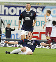 05/05/2008   Copyright Pic: James Stewart.File Name : sct_jspa02_falkirk_v_hearts.THOMAS SCOBBIE CELEBRATES AFTER HE SCORES FALKIRK'S FIRST.James Stewart Photo Agency 19 Carronlea Drive, Falkirk. FK2 8DN      Vat Reg No. 607 6932 25.Studio      : +44 (0)1324 611191 .Mobile      : +44 (0)7721 416997.E-mail  :  jim@jspa.co.uk.If you require further information then contact Jim Stewart on any of the numbers above........