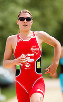 13 JUN 2010 - BEAUVAIS, FRA - Hollie Avil - Beauvais round of the French Grand Prix triathlon series (PHOTO (C) NIGEL FARROW)