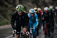 Jay Robert Thomson (ZAF/Dimension Data) up front<br /> <br /> 76th Paris-Nice 2018<br /> Stage 8: Nice > Nice (110km)