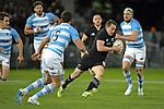 NELSON, NEW ZEALAND September 8: All Blacks v Argentina, Trafalgar Park, Nelson, New Zealand, September 8, 2018 (Photos by: Barry Whitnall/Shuttersport Ltd