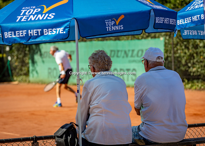 Hilversum, The Netherlands,  August 23, 2019,  Tulip Tennis Center, NSK, Spetators<br /> Photo: Tennisimages/Henk Koster