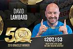 2019 WSOP Event 36: $3,000 No-Limit Hold'em Shootout