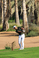 Oscar Lengden (SWE) during round 2, Ras Al Khaimah Challenge Tour Grand Final played at Al Hamra Golf Club, Ras Al Khaimah, UAE. 01/11/2018<br /> Picture: Golffile | Phil Inglis<br /> <br /> All photo usage must carry mandatory copyright credit (&copy; Golffile | Phil Inglis)