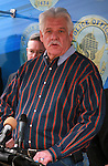 Claude Mattox City Councilman Speaking at the fourth annual Stop Random Gunfire Press Conference in Phoenix, AZ, on this Wednesday, December 29, 2010. .Photo by AJ Alexander/AJAimages