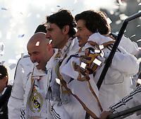 32.05.2012 SPAIN - 2012 Spain Festival celebration champion Real Madrid La Liga 32nd May 03rd. The picture show Karanca