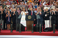 WASHINGTON, DC - JULY 4 : President Donald J. Trump speaks at Salute to America at the Lincoln Memorial in Washington, DC July 4, 2019  <br /> CAP/MPI/STA<br /> ©STA/MPI/Capital Pictures