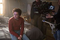 Bad Samaritan (2018)  <br /> Behind the scenes photo of Robert Sheehan<br /> *Filmstill - Editorial Use Only*<br /> CAP/MFS<br /> Image supplied by Capital Pictures