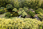 A display in the Japanese Tea Garden. The Tea Garden is located inside Golden Gate Park in San Francisco, California. (Photo by Brian Garfinkel)
