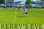 Football action at the Community GAA Football games in Na Gaeil on Monday