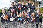 Kerry Fleadh Cheoil : Members of CCe Bar na Sraide taking part in the Kerry Fleadh Cheoil at the Tintean Theatre, Ballybunion on Saturday last. Front : Riona Moran, Liam Sugrue, Clionadh Guiney, Charlotte Hulme, Eilish Galvin & Maeve Daly. Centre : Emmett Daly, Ruth O'Shea, Caoimhe O'Shea & Maire O'Sullivan. Back : Sarah Landers, Robert Wharton, Aoife Murphy, Abbie Daly, Aisling O'Shea Sophie Egan.