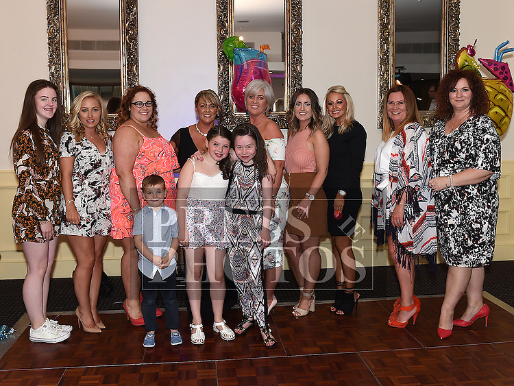 Geraldine McDowell celebrating her 40th birthday in The d hotel with friends and family. Photo:Colin Bell/pressphotos.ie