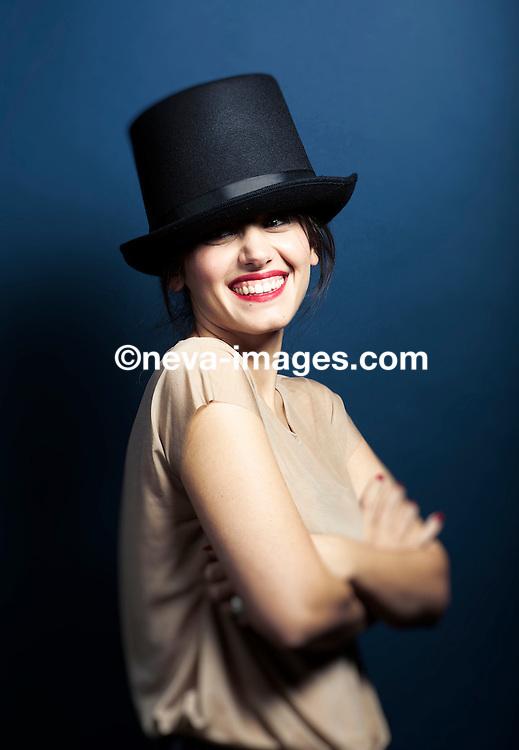 Katie Melua, singer and songwriter, studio shoot.