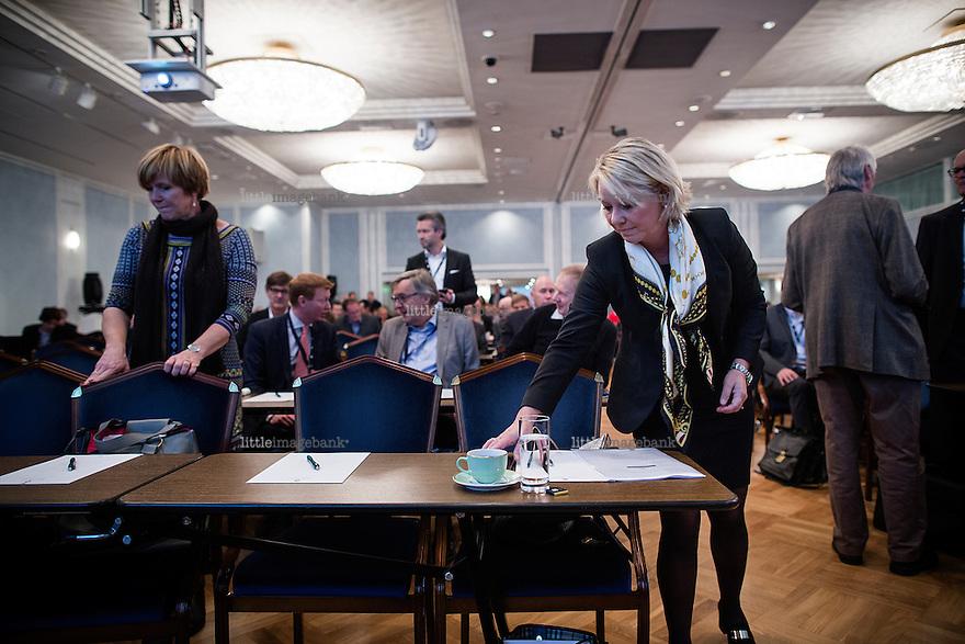 Oslo, Norge, 22.10.2014. Monica Mæland (født 6. februar 1968) er en norsk advokat og politiker for Høyre. Hun er siden 2013 næringsminister i Solberg-regjeringen. Mæland var byrådsleder i Bergen fra 2003 til 2013. Foto: Christopher Olssøn.