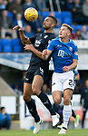 St Johnstone v Dundee&hellip;25.08.18&hellip;   McDiarmid Park     SPFL<br />Steven Caulker and Callum Hendry<br />Picture by Graeme Hart. <br />Copyright Perthshire Picture Agency<br />Tel: 01738 623350  Mobile: 07990 594431