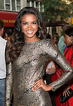 Miss Universe Leila Lopes.attending the opening night of the Broadway limited engagement of 'Fela!' at the Al Hirschfeld Theatre on July 12, 2012 in New York City.