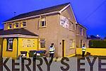 Gardai at a fire at Hurleys Vetinary in Rock Street, on Thursday evening.