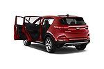 Car images close up view of a 2018 KIA Sportage EX 5 Door SUV doors