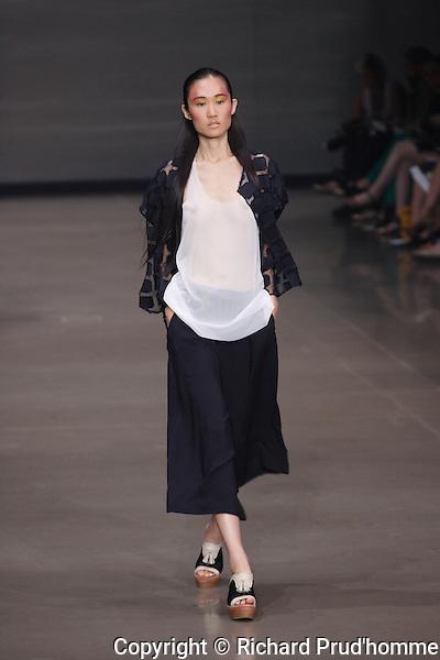 Melissa Nepton Spring/Summer 2014 fashion show