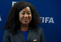 Zurigo 14-10-2016  Football FIFA - Council meeting; FIFA  General Secretary Fatma Samba Diouf Samoura (SEN) at a press briefing at the FIFA headquarters  in Zurich<br />  Foto Steffen Schmidt/freshfocus/Insidefoto ITALY ONLY