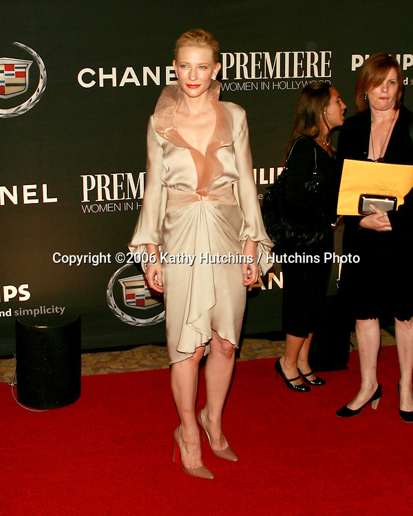 Cate Blanchett.Premiere Women In Hollywood Dinner.Beverly Hills Hotel.Beverly Hills, CA.September 20, 2006.©2006 Kathy Hutchins / Hutchins Photo....
