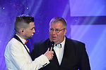 at the Association of Irish Musical Societies annual awards in the INEC, KIllarney at the weekend.<br /> Photo: Don MacMonagle -macmonagle.com<br /> <br /> <br /> <br /> repro free photo from AIMS<br /> Further Information:<br /> Kate Furlong AIMS PRO kate.furlong84@gmail.com
