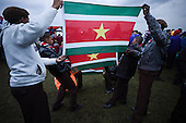 Every county are bringing their flags to the Opening Ceremony at 22nd World Scout Jamboree Sweden 2011.
