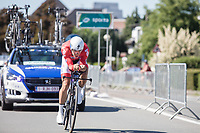 Philippe Gilbert (BEL/Quick Step Floors)<br /> <br /> Baloise Belgium Tour 2017<br /> Stage 3: ITT Beveren - Beveren (13.4km)