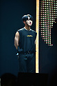 CORAL GABLES, FL - FEBRUARY 07: Changbin, of South Korean Boy band Stray Kids performs on stage during Stray Kids World Tour 'District 9 : Unlock' in Miami at Watsco Center on February 7, 2020 in Coral Gables, Florida. ( Photo by Johnny Louis / jlnphotography.com )