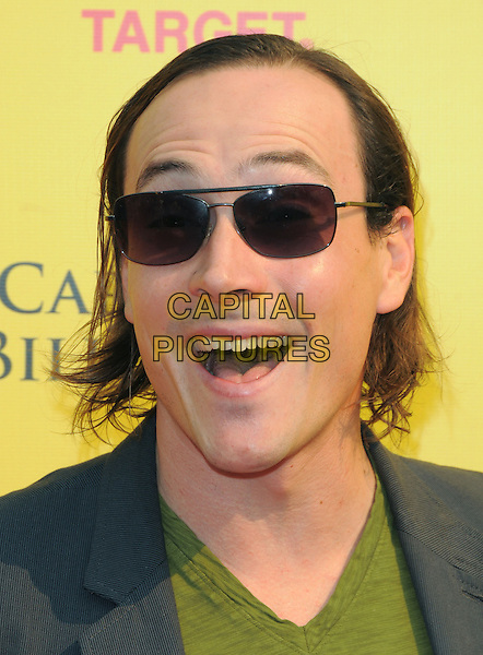 CHRIS KLEIN .at The 2008 P.S. Arts' Express Yourself sponsored by Target held at Barker Hangar in Santa Monica, California, USA,  November 16th 2008.                                                                     .portrait headshot sunglasses funny face smiling .CAP/DVS.©Debbie VanStory/Capital Pictures