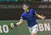 Rotterdam, Netherlands, 10 februari, 2018, Ahoy, Tennis, ABNAMROWTT,  Supermatch semifinal: Jesse Timmermans (NRD)<br /> Photo: Henk Koster/tennisimages.com