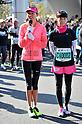 (L to R) Jessica Michibata, Misako Yasuda,.MARCH 11, 2011 - Marathon : Nagoya Women's Marathon 2012 Start & Goal at Nagoya Dome, Aichi, Japan. (Photo by Jun Tsukida/AFLO SPORT)[0003].