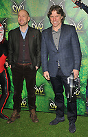 Derren Brown and John Bishop at the OVO by Cirque du Soleil press night, Royal Albert Hall, Kensington Gore, London, England, UK, on Wednesday 10 January 2018.<br /> CAP/CAN<br /> &copy;CAN/Capital Pictures