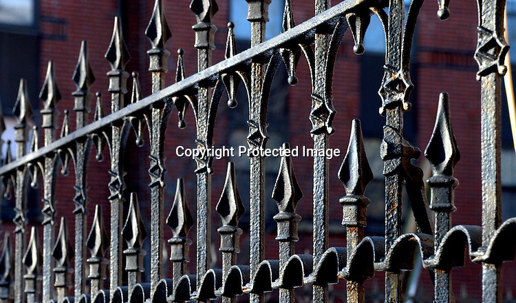 Wrought Iron Fence, Wst End, Portland, ME