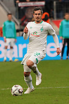 17.03.2019, BayArena, Leverkusen, GER, 1. FBL, Bayer 04 Leverkusen vs. SV Werder Bremen,<br />  <br /> DFL regulations prohibit any use of photographs as image sequences and/or quasi-video<br /> <br /> im Bild / picture shows: <br /> Fin Bartels (Werder Bremen #22), Einzelaktion, Ganzkörper / Ganzkoerper,  <br /> <br /> Foto © nordphoto / Meuter
