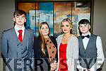 Enjoying the Abbeydorney Hurling annual social last Saturday night in the Ballyroe heights hotel, Tralee were L-R Jack&Tracey Sheehan, Rebecca Moynihan with Cian Sheehan.