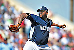 11 March 2009: New York Yankees' pitcher CC Sabathia on the mound during a Spring Training game against the Detroit Tigers at Joker Marchant Stadium in Lakeland, Florida. The Tigers defeated the Yankees 7-4 in the Grapefruit League matchup. Mandatory Photo Credit: Ed Wolfstein Photo