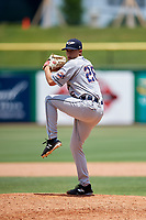 Lakeland Flying Tigers relief pitcher Will Vest (26) delivers a pitch during a game against the Clearwater Threshers on May 2, 2018 at Spectrum Field in Clearwater, Florida.  Clearwater defeated Lakeland 7-5.  (Mike Janes/Four Seam Images)