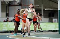 WINSTON-SALEM, NC - FEBRUARY 07: Meredith Helton #8 of Wake Forest University runs in the Women's 3000 Meters at JDL Fast Track on February 07, 2020 in Winston-Salem, North Carolina.